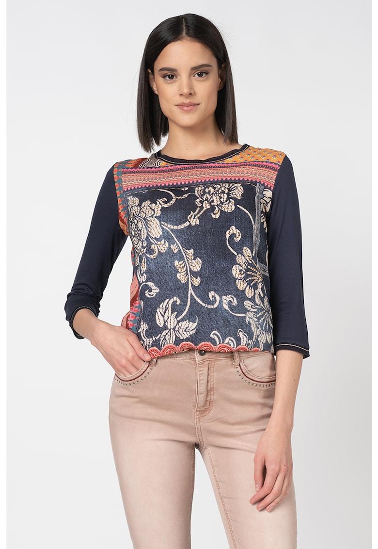 Bluza cu aplicatii din nituri Granada