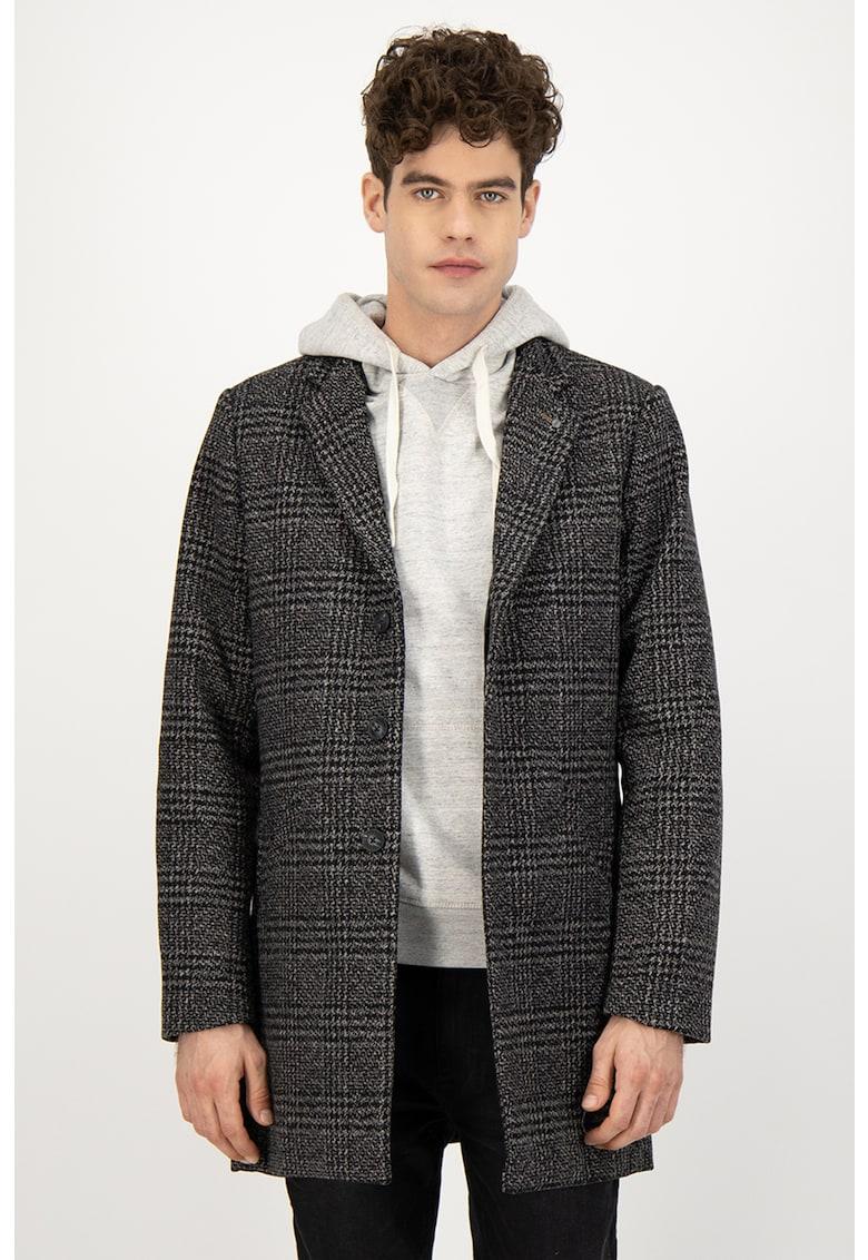 Palton din amestec de lana imagine
