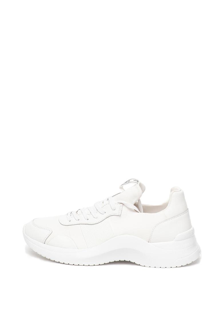 Pantofi sport slip-on cu insertii de piele Uzzle