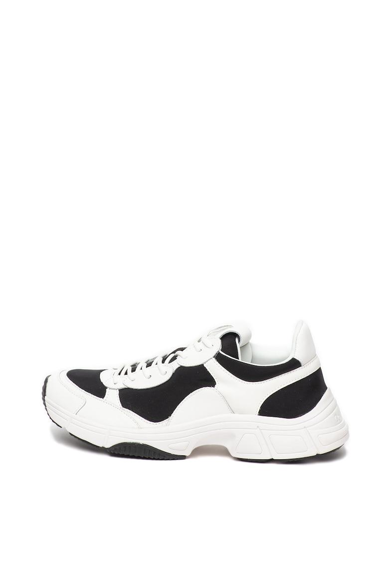 Pantofi sport cu garnituri de piele Daxton