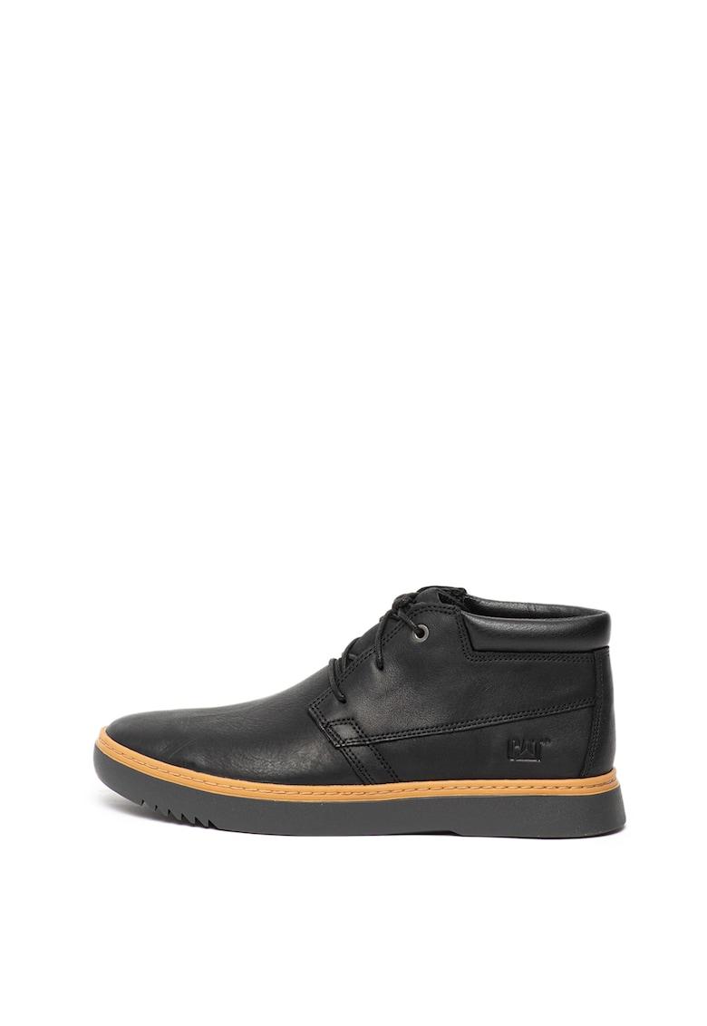 Pantofi casual de piele - cu branturi detasabile Zine