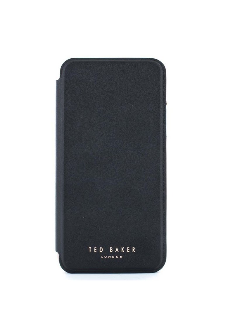 Husa de protectie Book Shannon Mirror Folio pentru Apple iPhone XS / X - Black