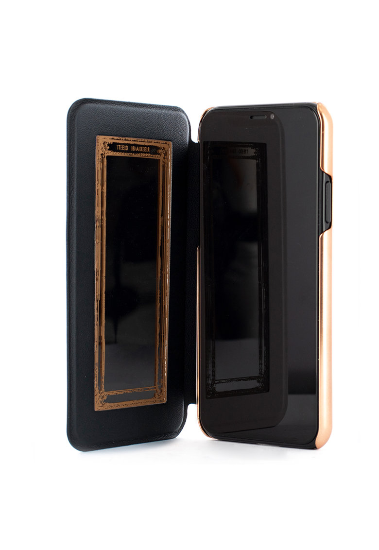Husa de protectie Book Shannon Mirror Folio pentru Apple iPhone 11 Pro - Black