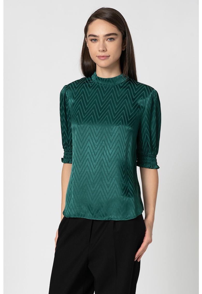 Bluza cu model chevron Tiarie imagine