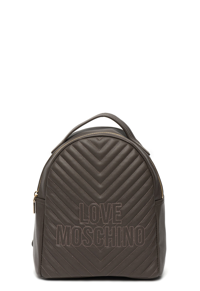 Rucsac de piele ecologica – cu logo de la Love Moschino