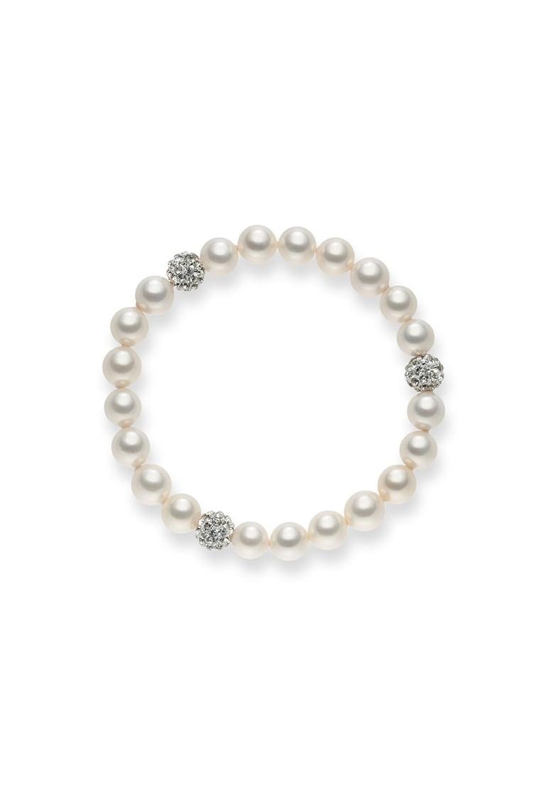 Bratara elastica cu perle organice imagine promotie