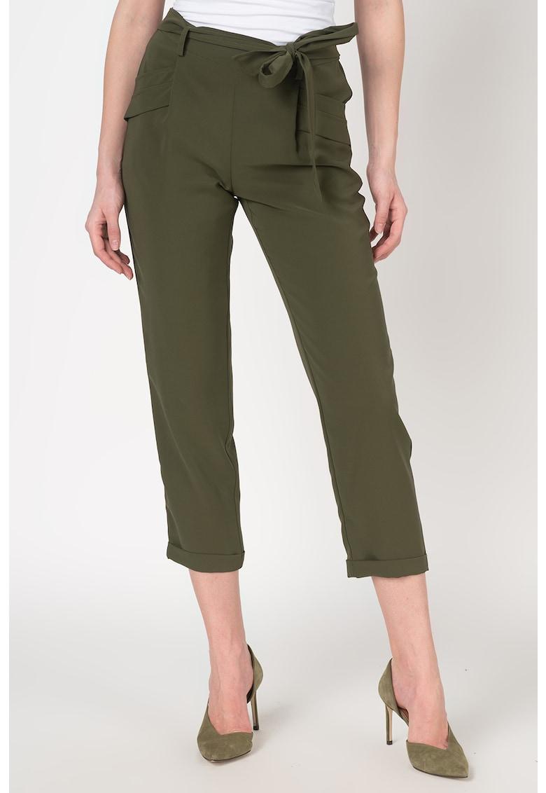 Imagine Pantaloni Cu Cordon In Talie