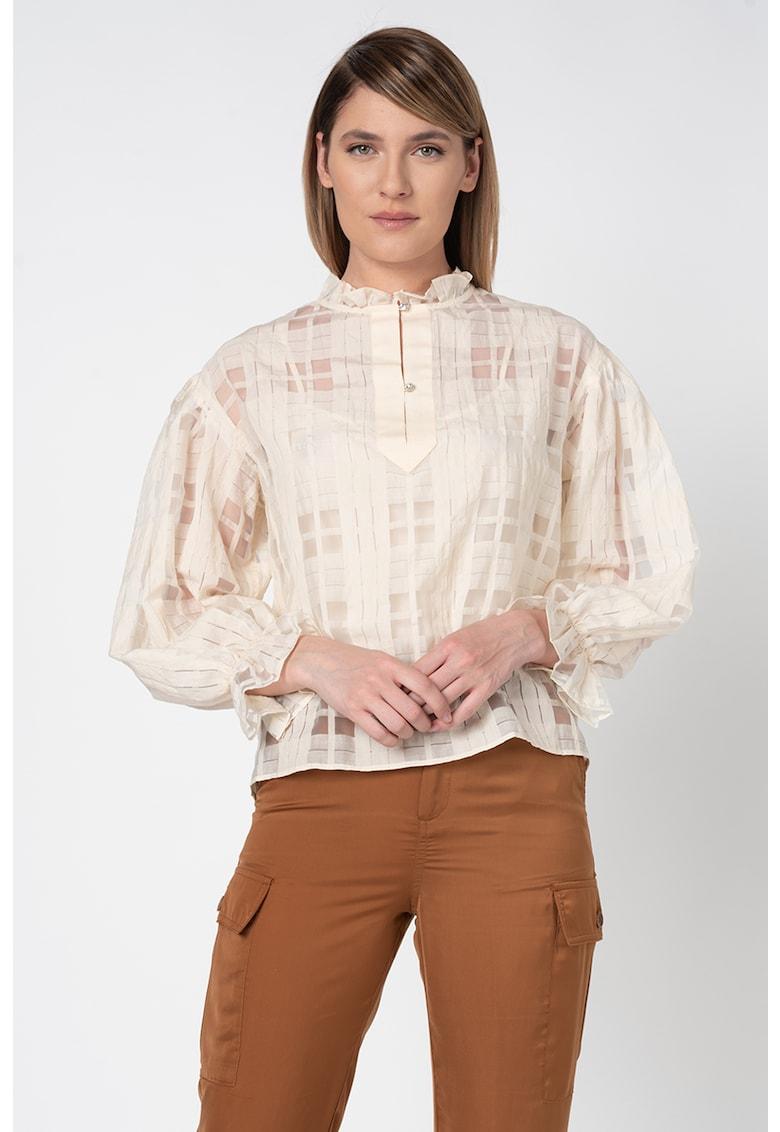 Bluza cu maneci cazute imagine