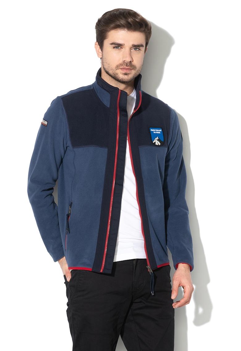 Bluza sport din fleece cu fermoar Traver
