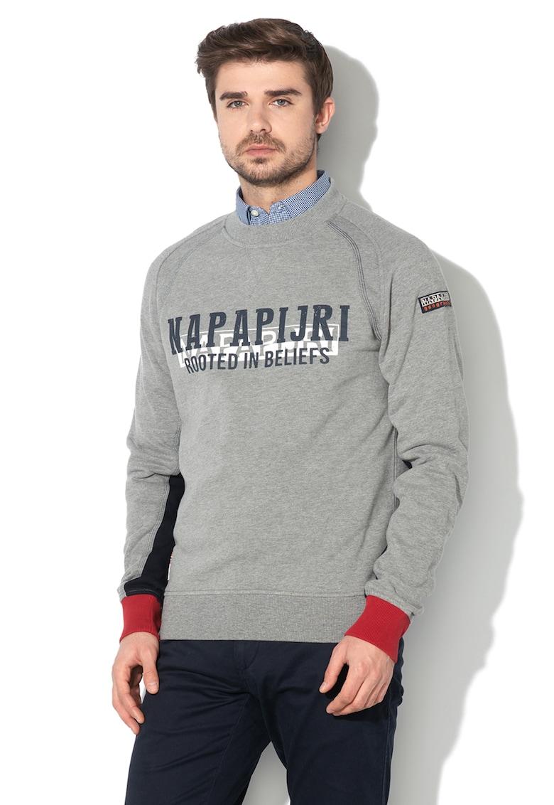 Bluza sport cu imprimeu logo Bardara