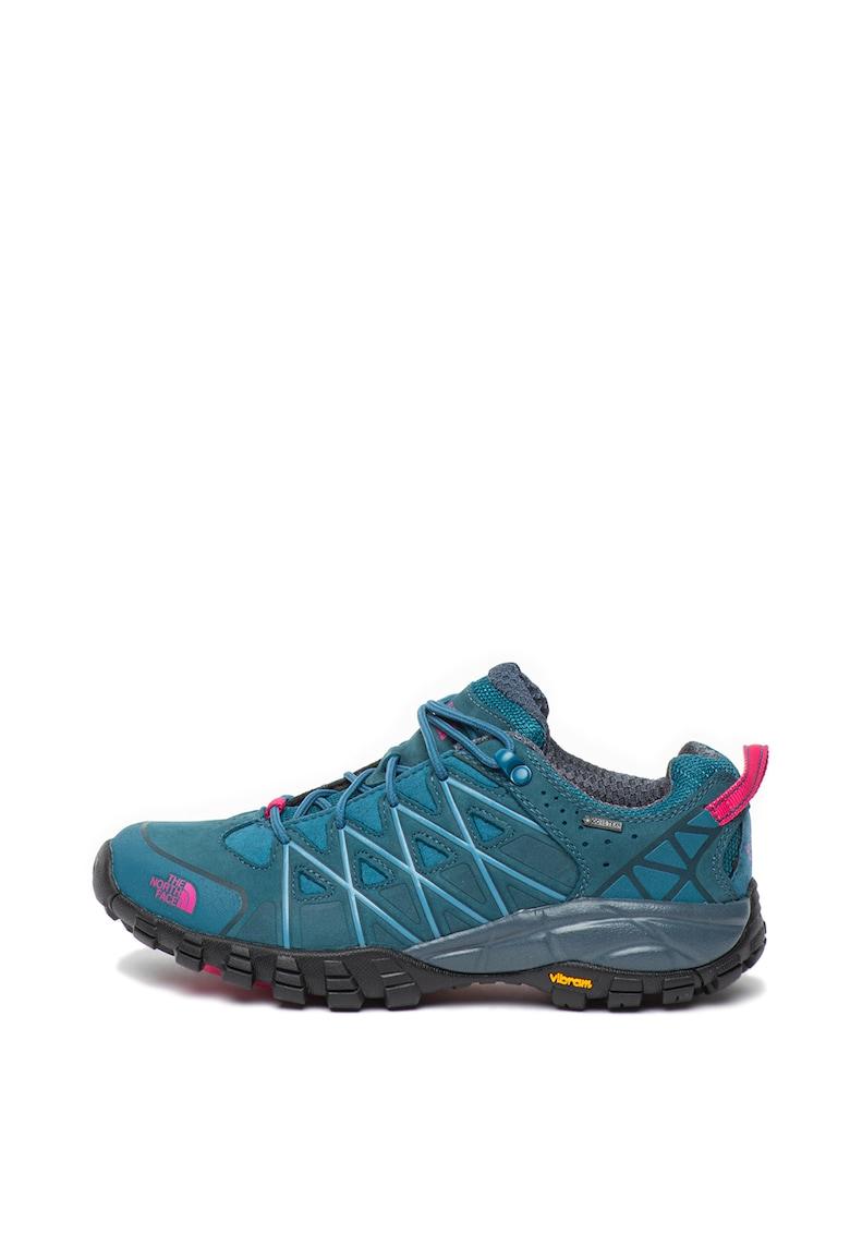 Pantofi impermeabili cu garnituri de piele nabuc - pentru drumetii EVO GTX