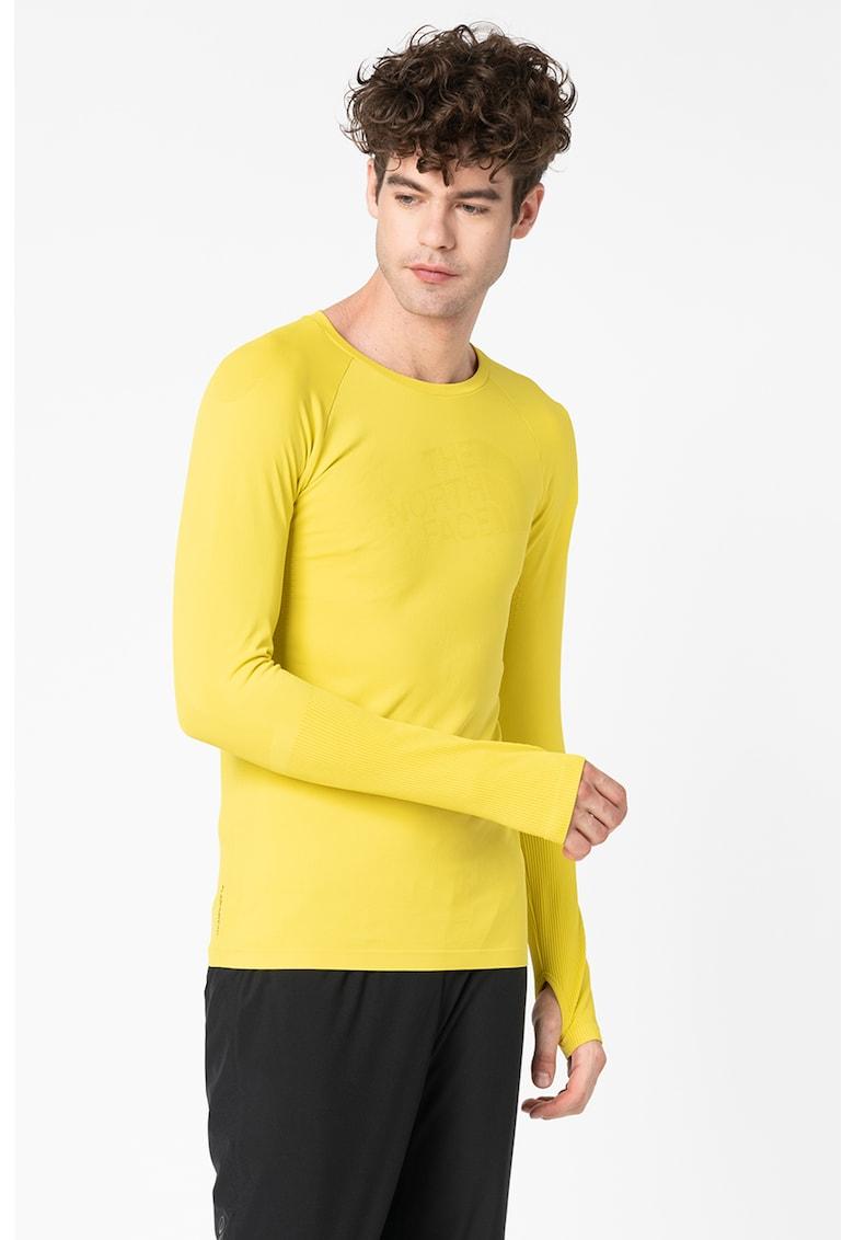 Bluza slim fit pentru drumetii Heatup