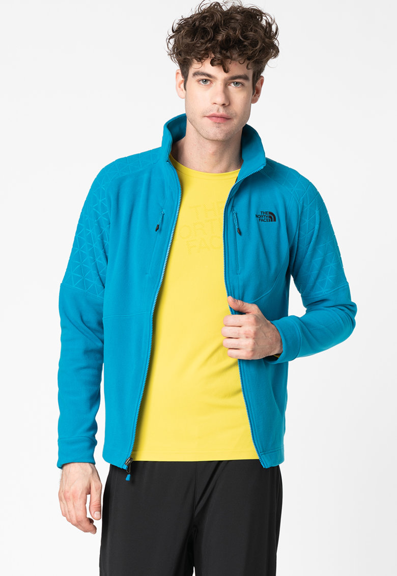 Jacheta slim fit din fleece - pentru drumetii