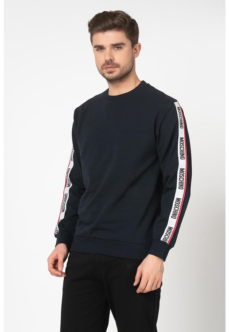 Bluza sport de casa cu detalii cu banda logo