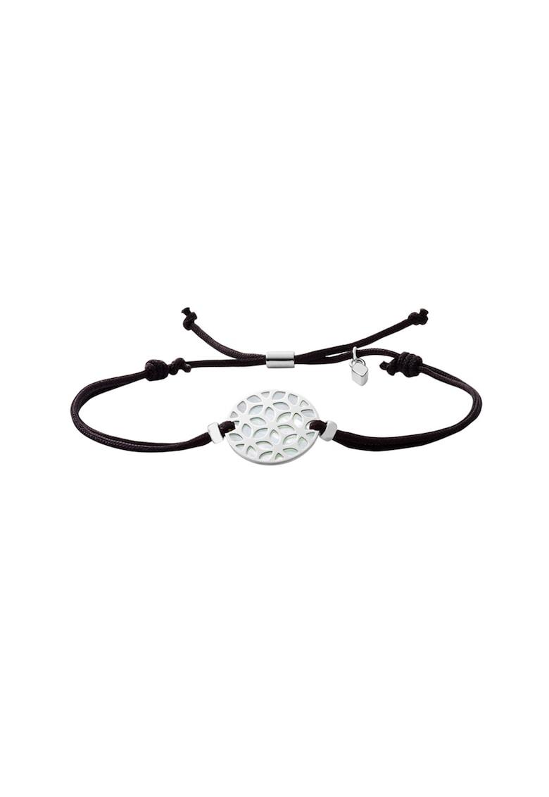 Bratara cu talisman rotund imagine fashiondays.ro Fossil