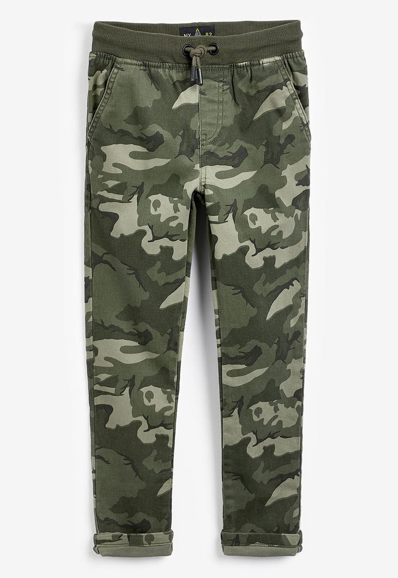 NEXT Pantaloni conici cu model camuflaj