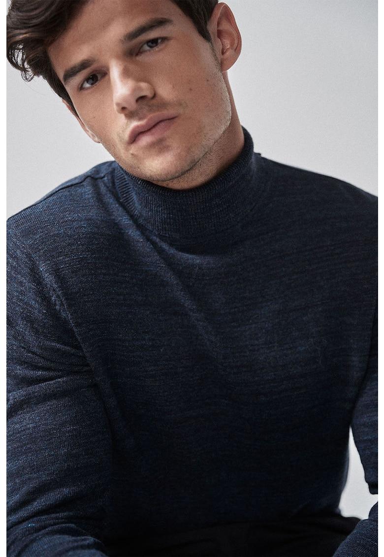 NEXT Pulover din tricot fin cu broderie cerb