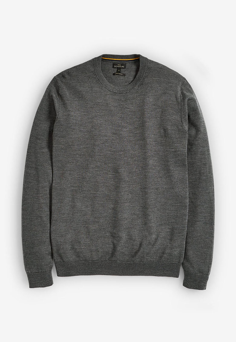 NEXT Pulover din lana Merinos tricotat fin