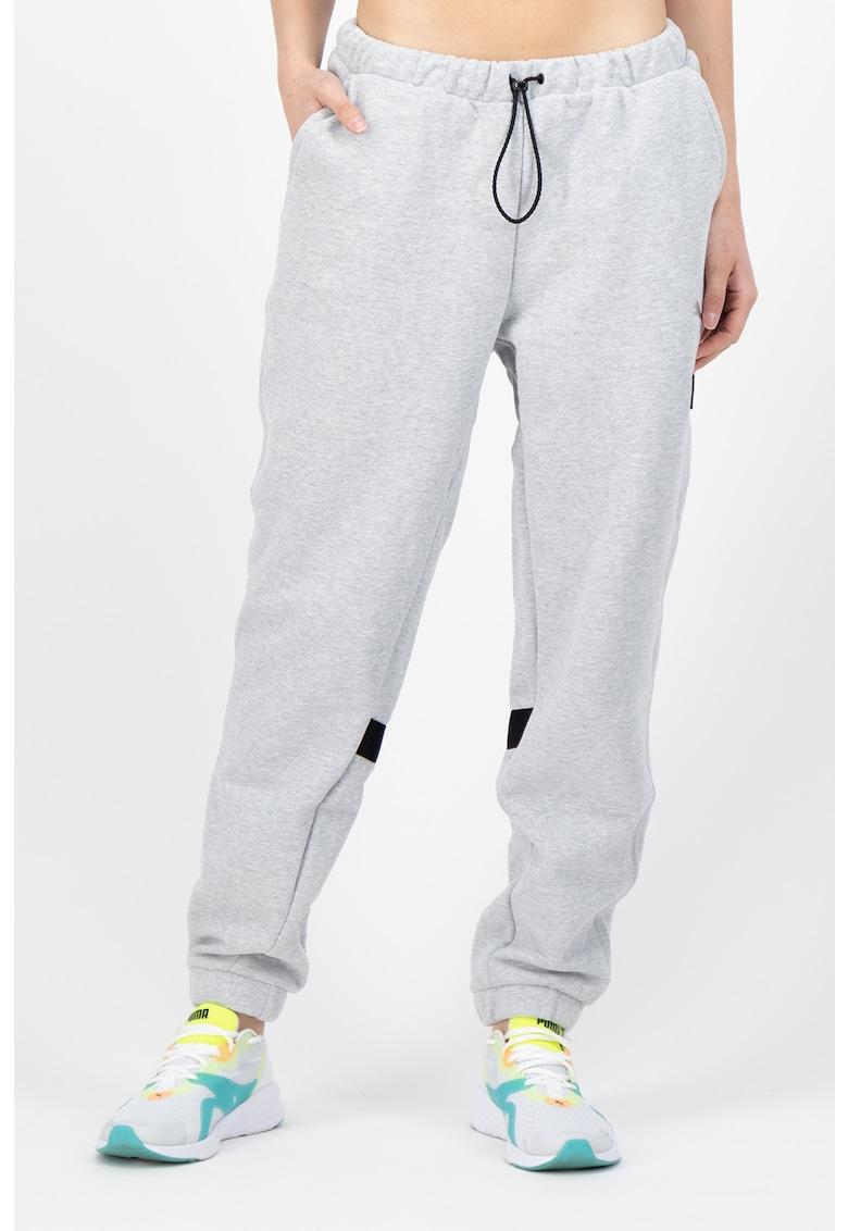 Puma Pantaloni sport cu nod glisant - pentru alergare si antrenament