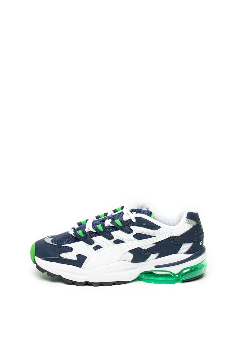 Pantofi sport unisex cu insertii de piele ecologica Cell Alien imagine