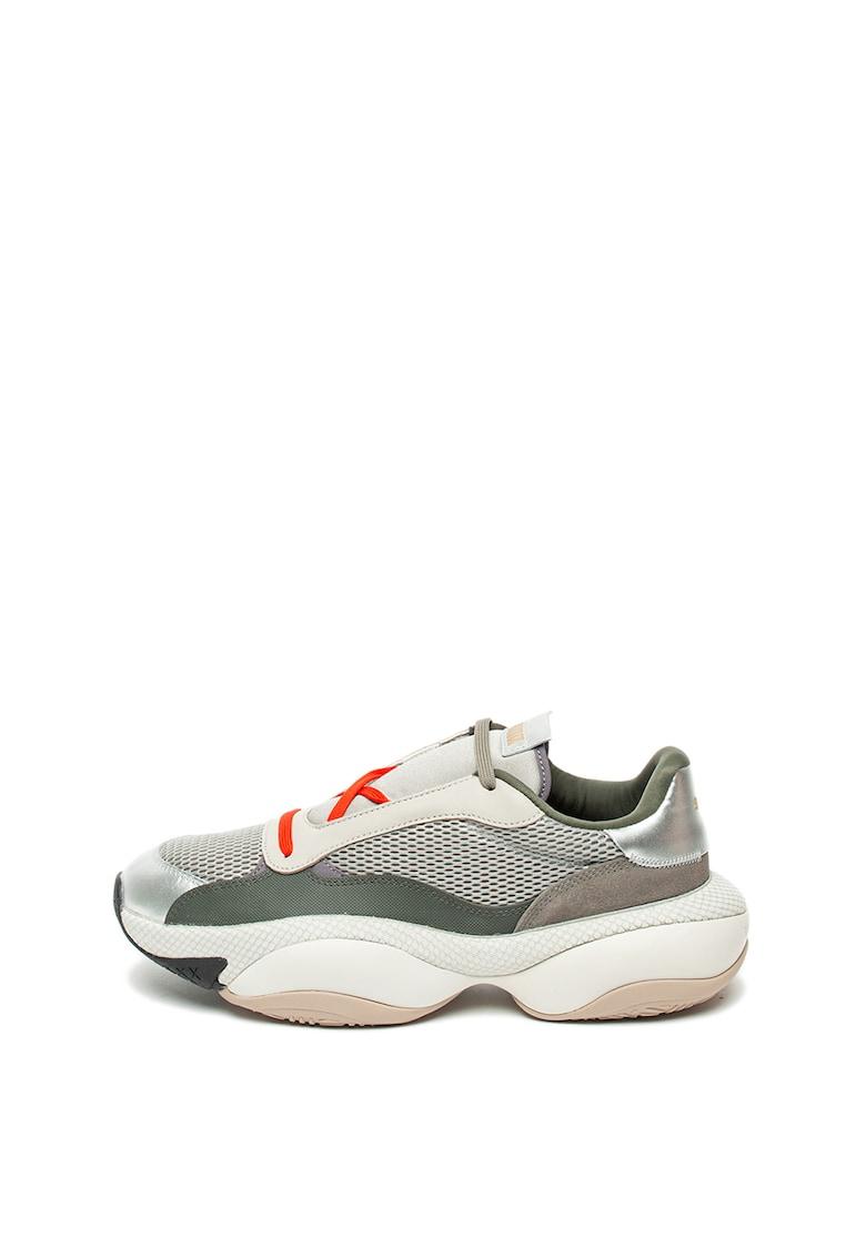 Pantofi sport unisex cu insertii de piele intoarsa Alteration imagine