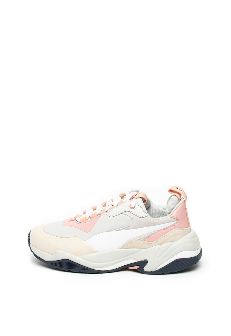 Pantofi sport cu garnituri de piele Thunder imagine