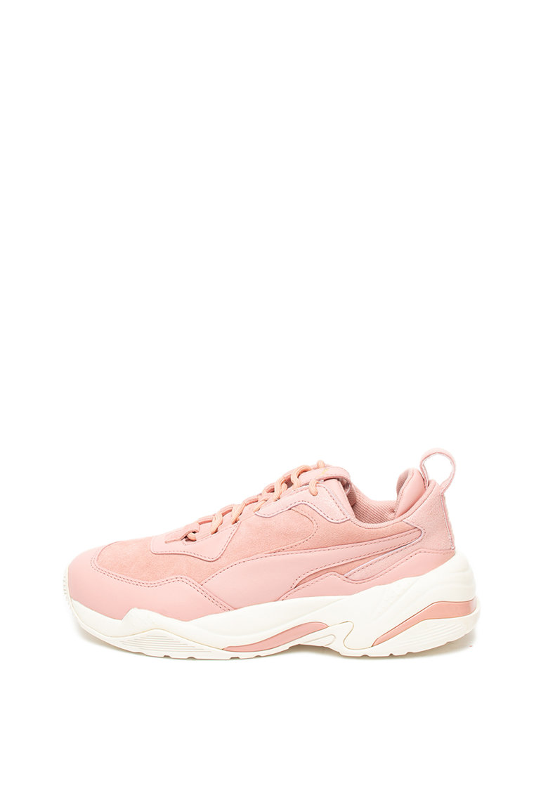 Pantofi sport de piele Thunder Fire Rose