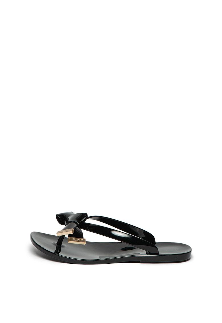 Papuci flip-flop cu aplicatie funda Luzzi
