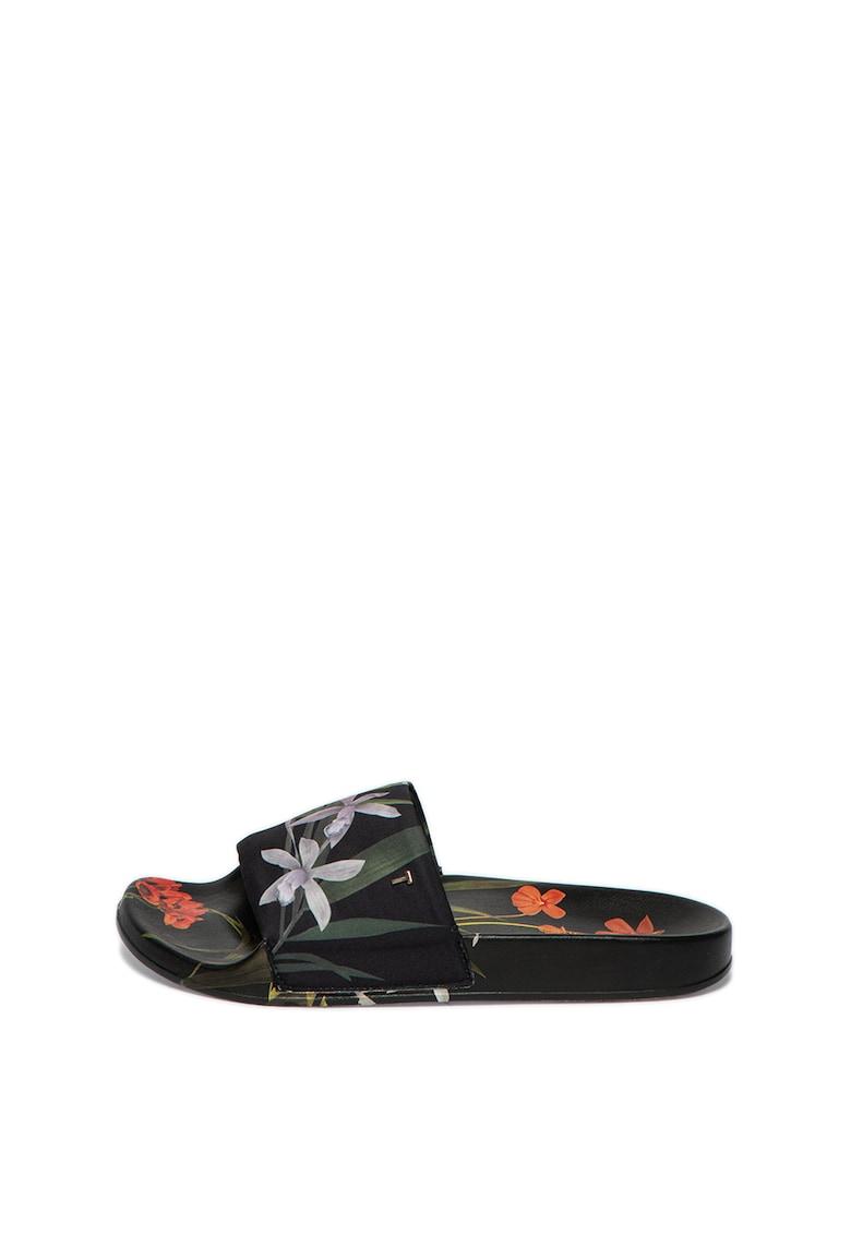 Papuci cu imprimeu floral Avelinh thumbnail