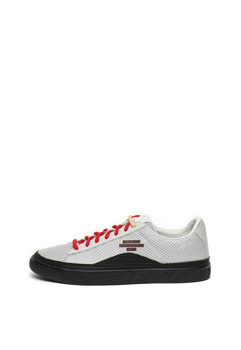 Pantofi sport unisex de plasa Clyde