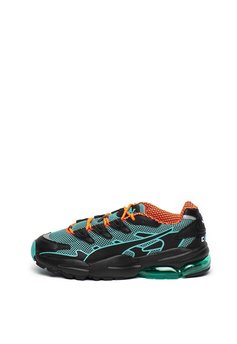 Pantofi sport cu insertii de plasa Cell Alien Kotto