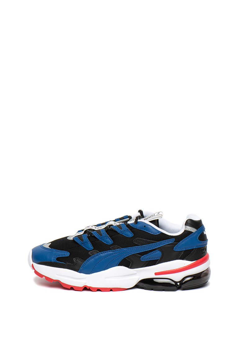 Pantofi sport unisex de piele cu garnituri de material textil CELL Alien