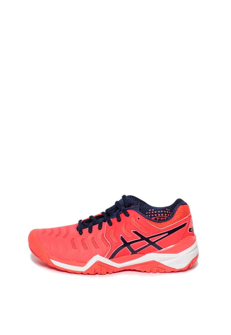 Pantofi cu aspect cauciucat - pentru tenis Gel-Resolution imagine fashiondays.ro Asics