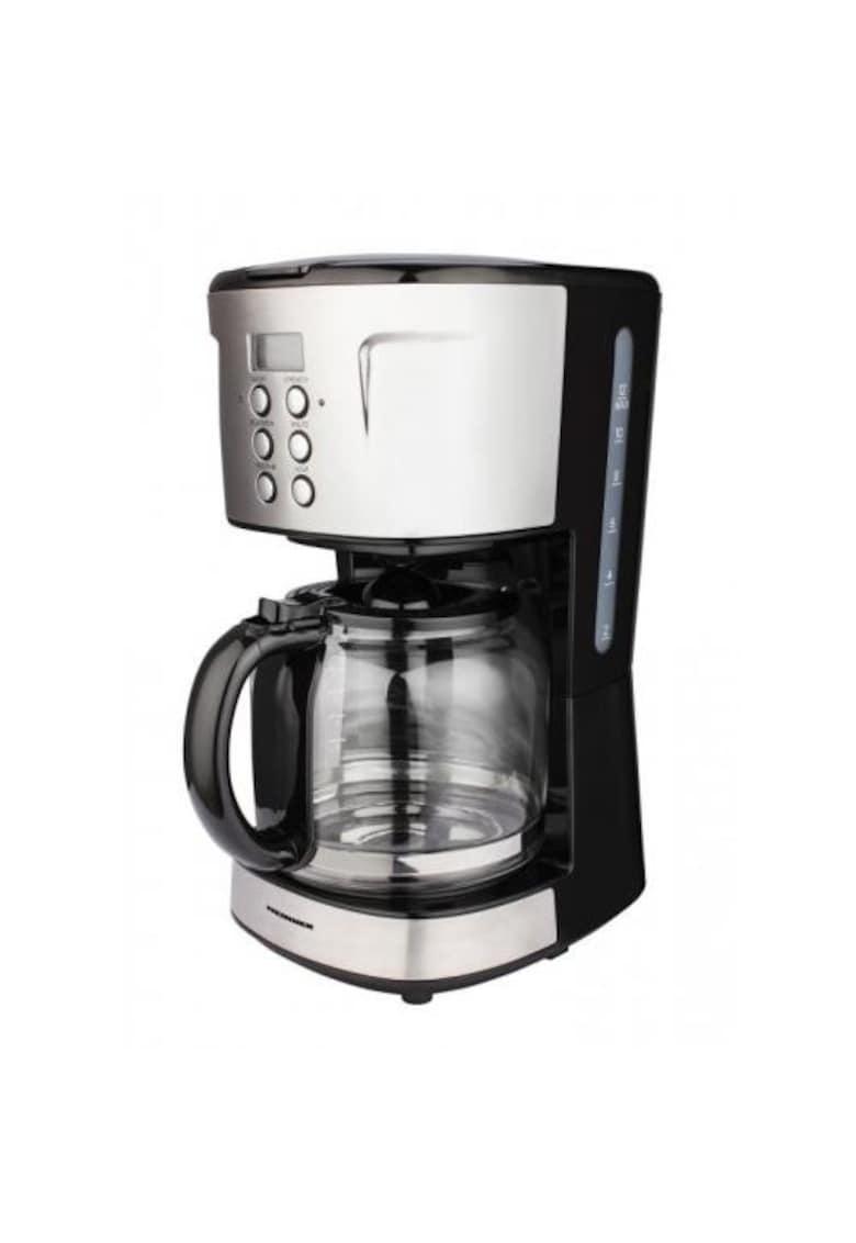 Heinner Cafetiera digitala   900 W - 1.5 L - timer - Negru/Inox