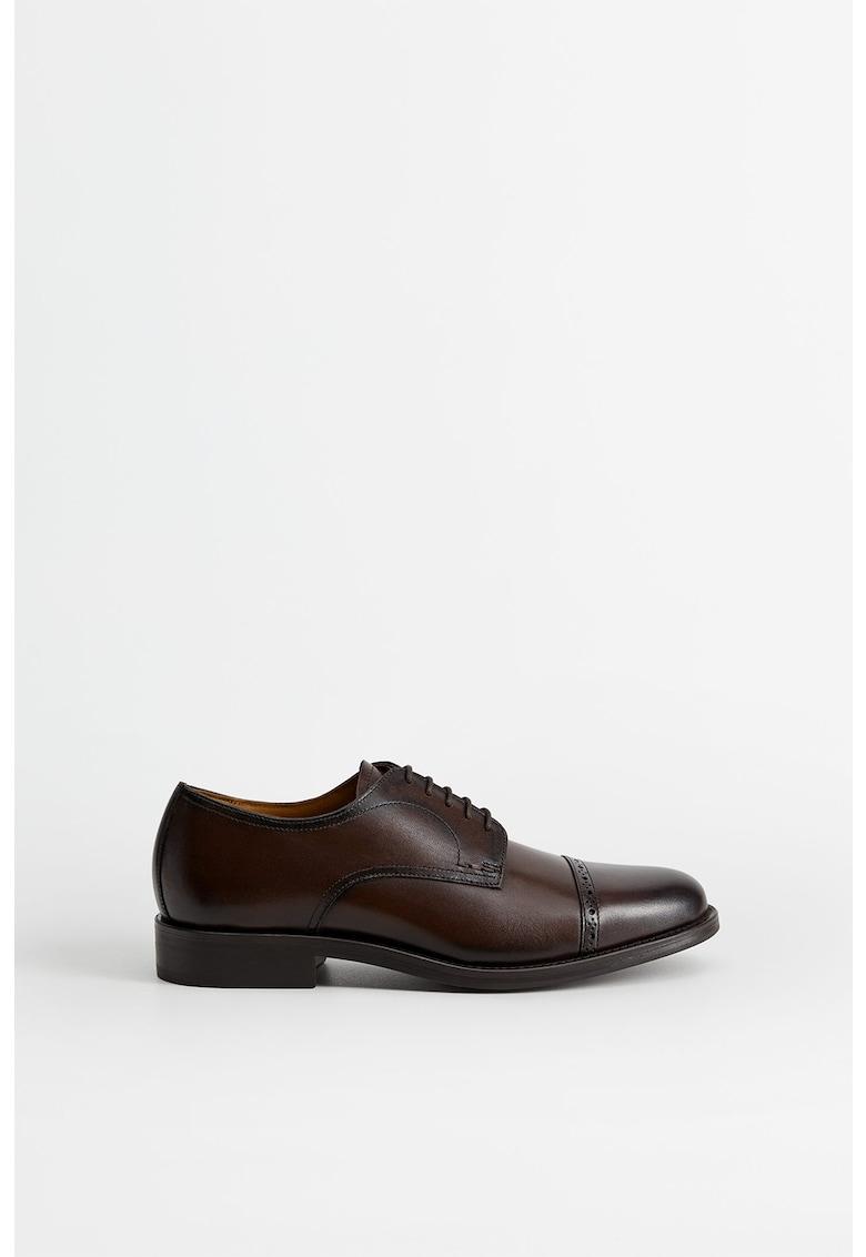 Pantofi derby de piele Madrid
