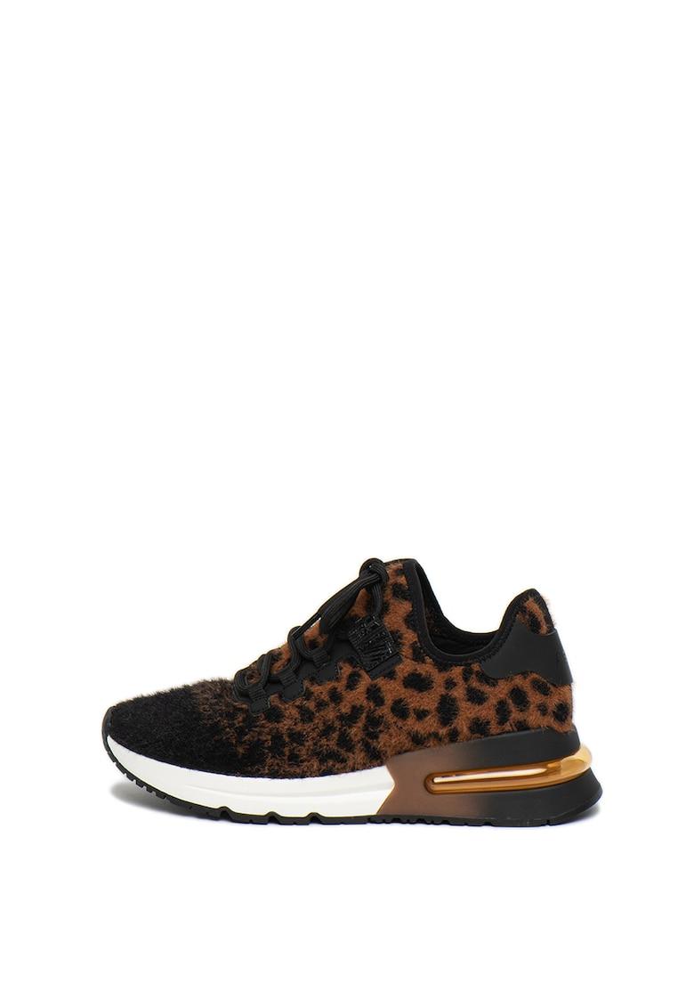 Pantofi sport slip-on cu aspect pufos Krush