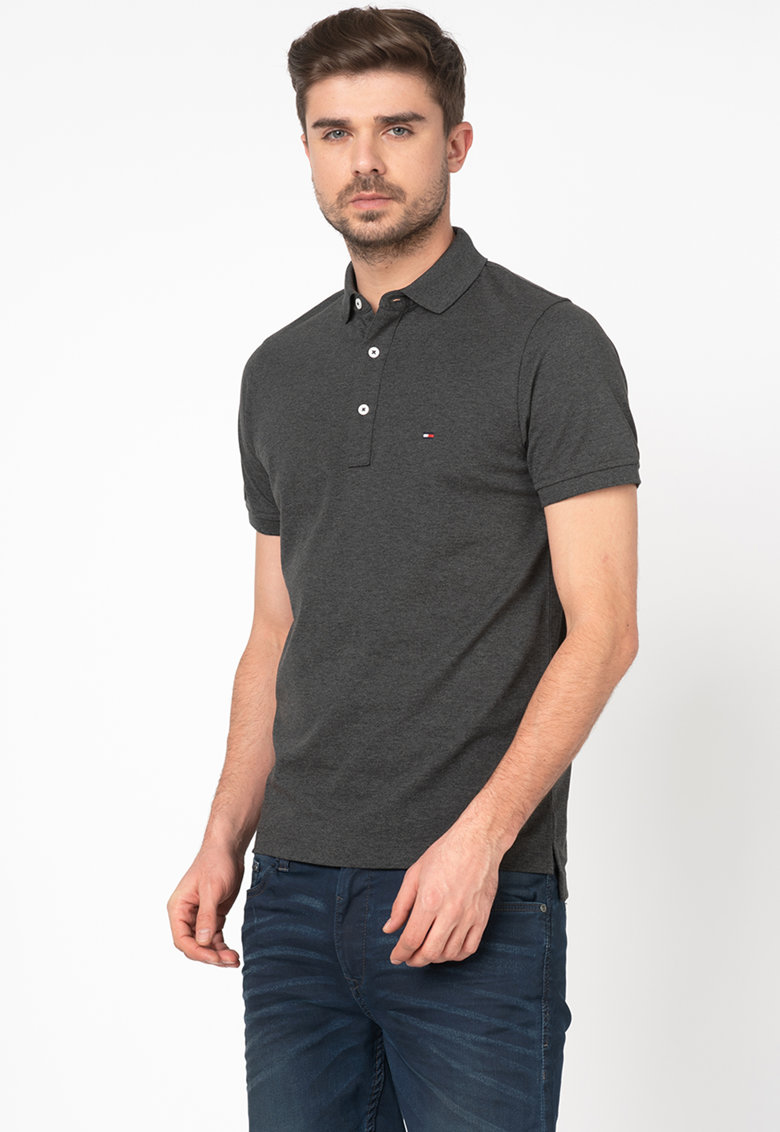Tommy Hilfiger Tailored Tricou polo slim fit din material pique