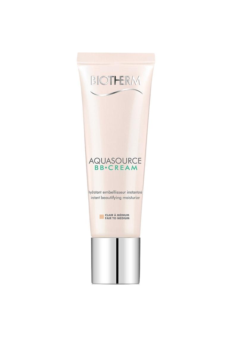 Crema hidratanta Aquasource BB Cream Fair to Medium SPF15 pentru toate tipurile de ten - 30 ml
