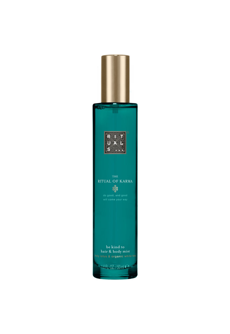 Spray pentru par si corp Karma Hair & Body Mist Holy Lotus & Organic White Tea - 50 ml