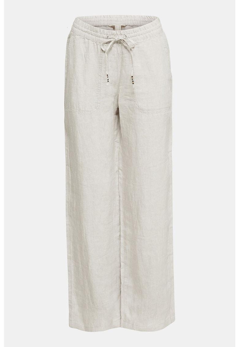Pantaloni drepti de in