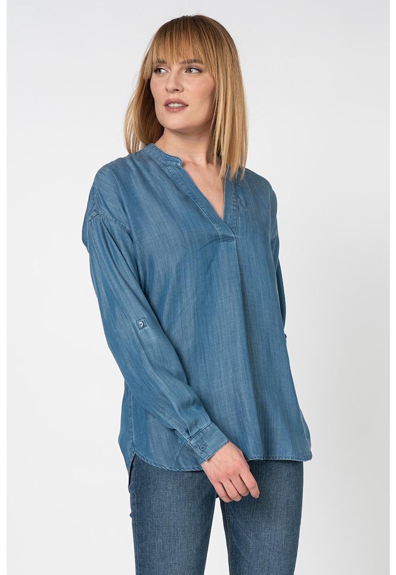 Bluza lejera din lyocell