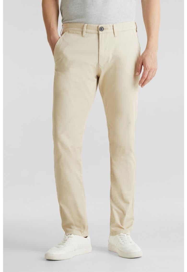Pantaloni chino cu buzunare laterale imagine fashiondays.ro