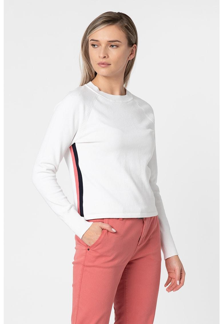 EDC by Esprit Pulover din tricot fin cu maneci raglan