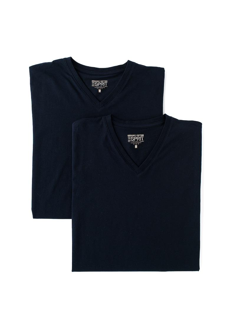 Set de tricouri din bumbac organic - 2 piese