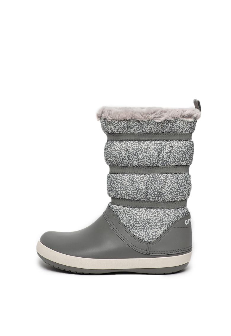Crocs Cizme de iarna cu captuseala de blana sintetica Crocband