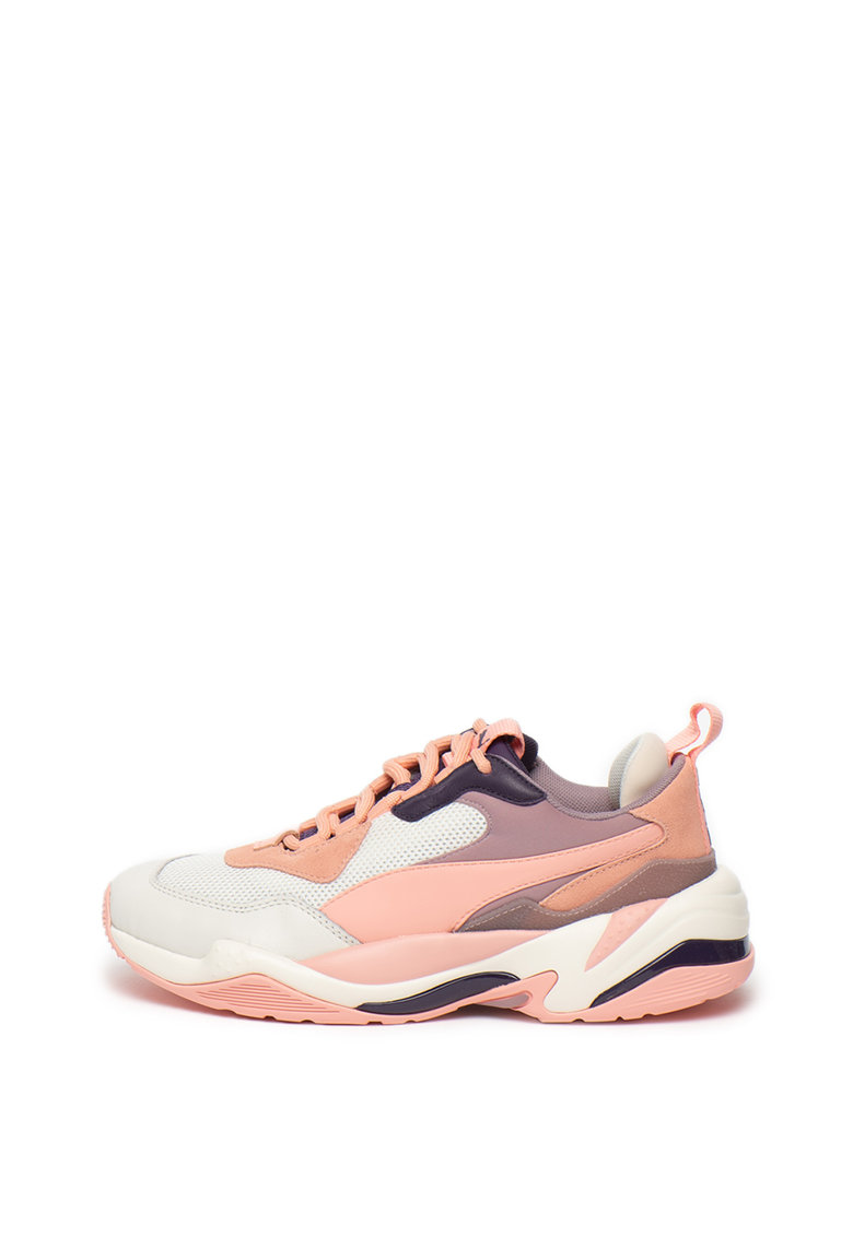Pantofi sport cu garnituri de piele Thunder Spectra Marshmallow imagine