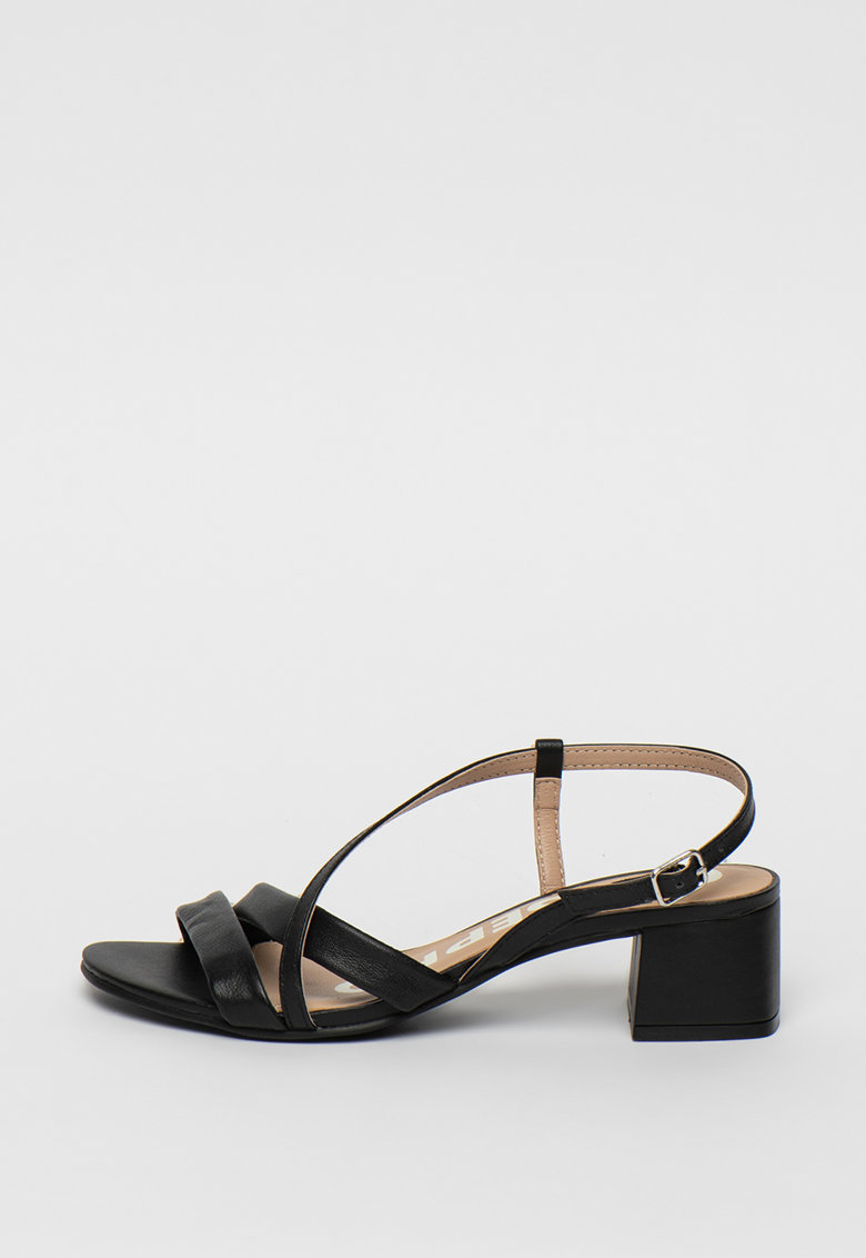 Sandale de piele cu barete multiple Albion poza fashiondays