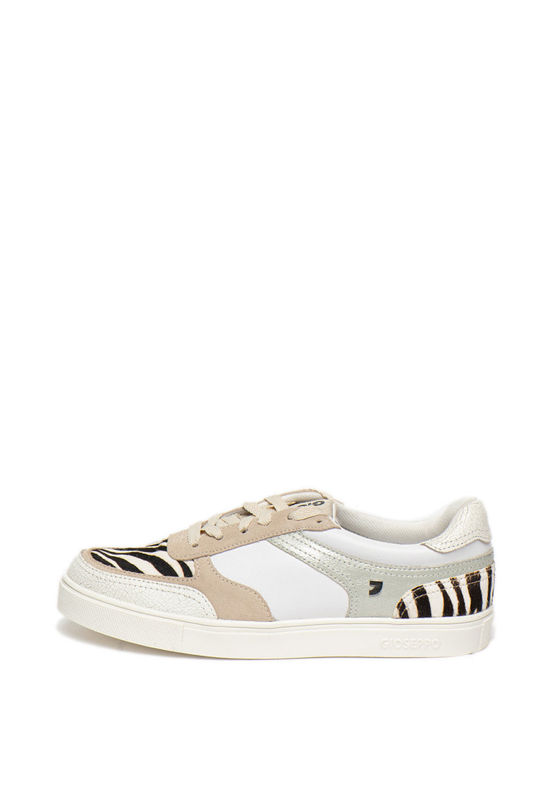 Pantofi sport cu insertie animal print Indore