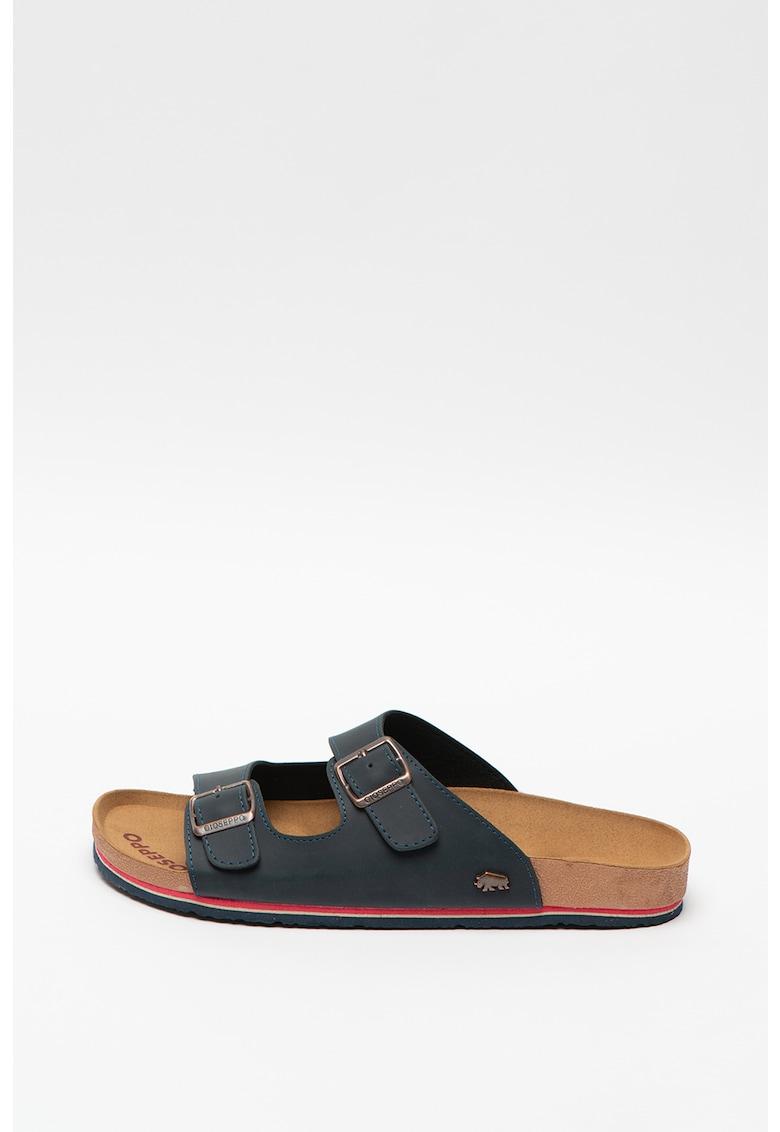 Papuci de piele ecologica - cu brant ergonomic Alero