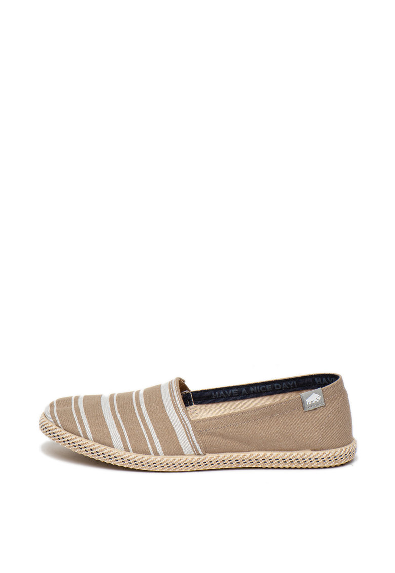 Espadrile cu model in dungi Faywood